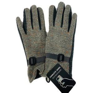Accessories - Womens Tech Touch Winter Gloves Faux Leather  M-L